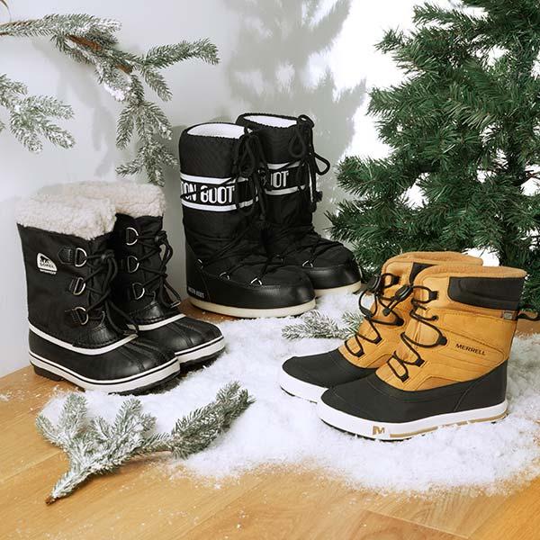 Snehule a obuv do snehu